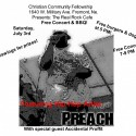 Hip-Hop artist Preach, with Accidental Proffit