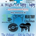Night of Hip Hop for Autism Society