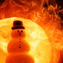 Hot Shops Fiery Snowman