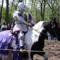 A knight at the joust