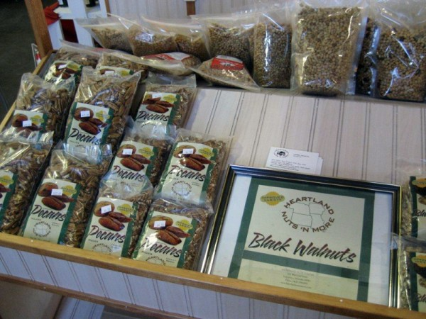 Heartland Nuts 'n More sells nuts grown in Nebraska Iowa Kansas and Missouri