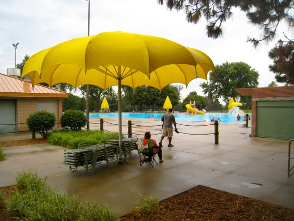 Gallagher Park Pool in Benson