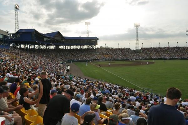 College World Series 2010: Rosenblatt Says Goobye