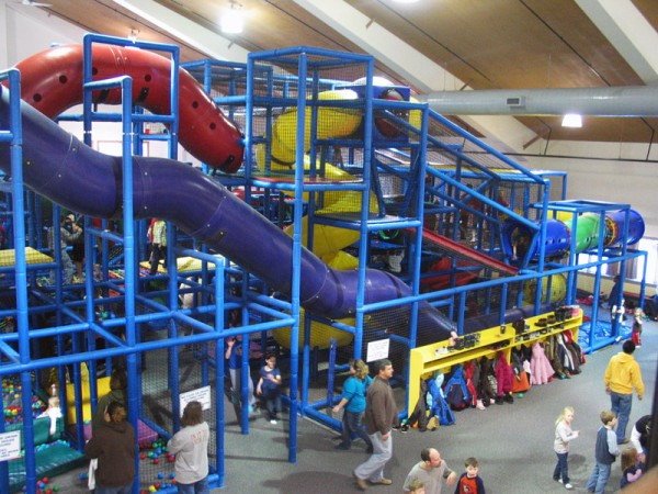 Mahoney State Park Indoor Kids Area