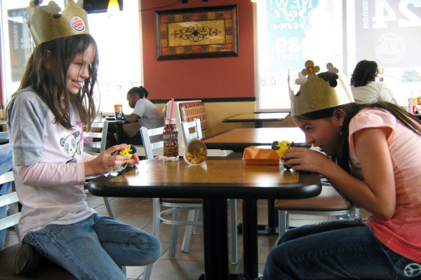 Toys or No Toys in Fast-Food Meals? : photo credit oddharmonic