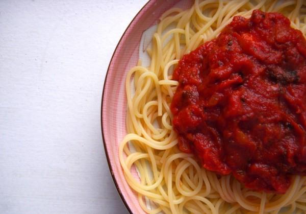 An Ideal Spaghetti Sauce - Lo Sole Mio