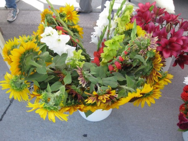 Flowers from an Omaha Farmers Market