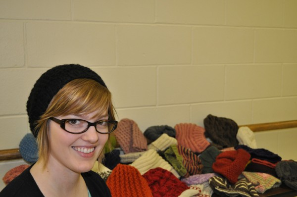 Robyn Devine of knitting blog One Hundred Hats