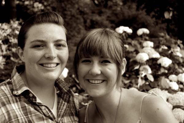 Kristy Wilke (left) and Jessica Kitzman (right)