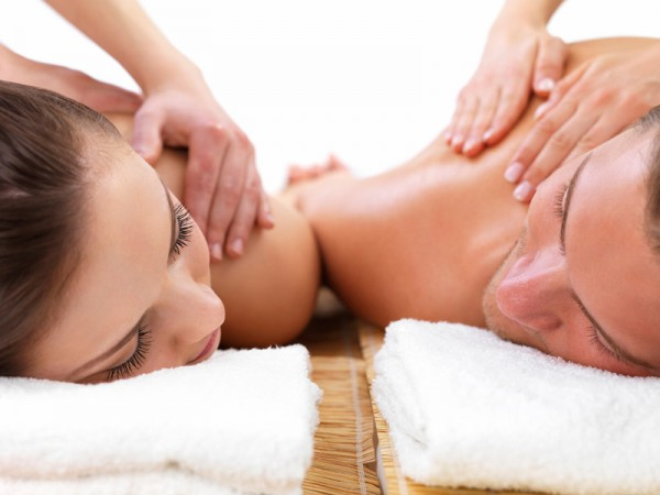 Get a couples massage on Valentine's Day