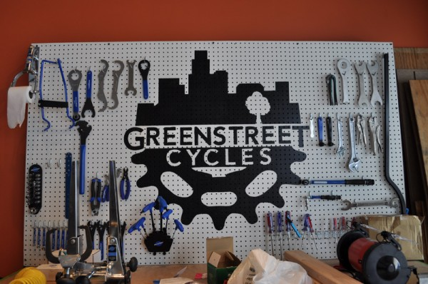 The shiny tools of Greenstreet Cycles
