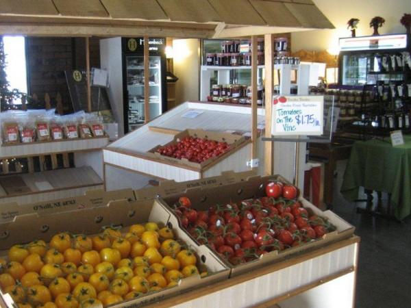Inside Tomato Tomato