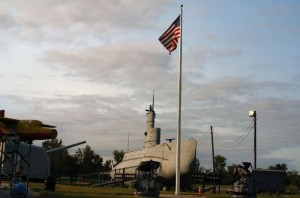 USS Marlin SST-2 and some of the many exhibits in Freedom Park