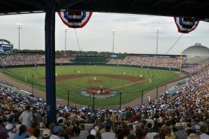 Johnny Rosenblatt Stadium in Omaha, Nebraska
