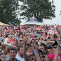 Great crowd shot at the Bank of the West Celebrates America Concert
