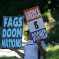 "Westboro Protestor: ""America is doomed"""