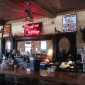 The bar at Boyd and Charlies BBQ