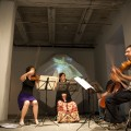 Chiara String Quartet of Lincoln, NE performing