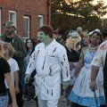 Dr San Guinary at the Zombie Walk