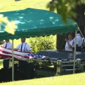 Edwin Wood funeral service