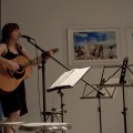 Ember Schrag of Lincoln, NE performing