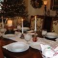 A festive table