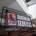 Shareholder Services sign