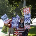 "Westboro Protestors: ""You hate your kids"""