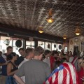 A view of the crowd just after the US draw with England