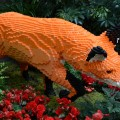 "The fox in the ""Nature Connects"" exhibit consists of 17,547 LEGO pieces."