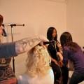 Ricki styles Amy's hair, Elisha styles...Desiree