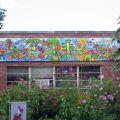 Garden mural at Western Hills Magnet Center