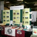 Nebraska Sustainable Agriculture Society's information booth