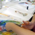 a painting class with Paula Wallace