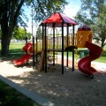 Playground at the Florence Branch Library