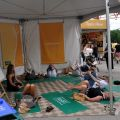 Yoga at the Omaha Summer Arts Festival