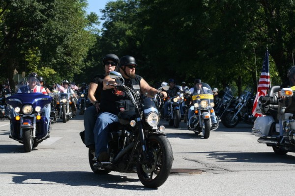 The Patriot Guard rolls out