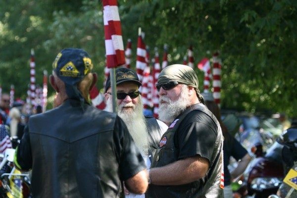 Patriot Guard members