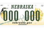 2011 Nebraska Meadowlark License Plate