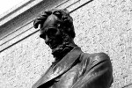 Abe Lincoln Memorial at the Nebraska Capitol Building