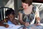 Roberta in Haiti