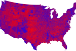 America: Red, Blue or Purple