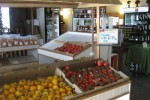 Inside the indoor farmers market