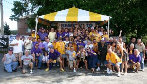 LSU Tailgate Party at McFly's