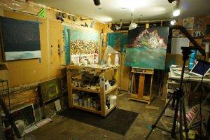 Nicholas Bohac's studio