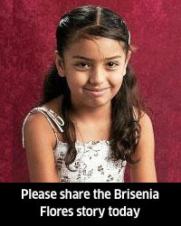 9 year old Brisenia Flores