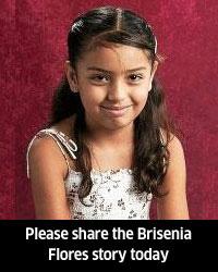 9 year old Brisenia Flores