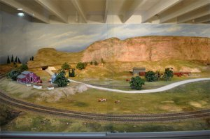 Union Pacific Model Train