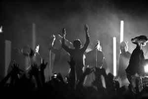 The Faint: photo by Zach Hollowell
