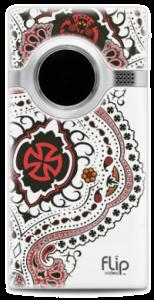 Custom Designed Flip Video Camera